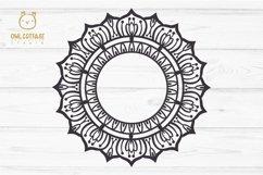 Mandala Bundle SVG, Yoga Mandala Cutting Files, Indian Round Product Image 5
