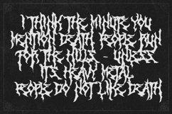 Monumental Purgatory - 3 Awesome Deathmetal Fonts Product Image 6