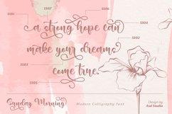 Sunday Morning- Modern Calligraphy Product Image 5