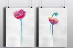 Watercolor poppies Product Image 2