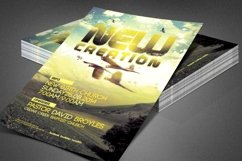 New Creation Church Flyer Template Product Image 2