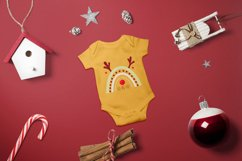 Cute Scandinavian Christmas Rainbows set in SVG, PNG, EPS Product Image 2