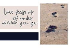 Beach Bum - Handwritten Script Font Product Image 3