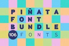 Piñata Font Bundle | 106 fonts Product Image 1