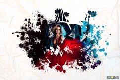 20 Beautiful portrait paint masks, halloween, Photoshop Product Image 4