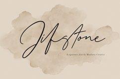 Jifstone Signature Handmade Font Product Image 1