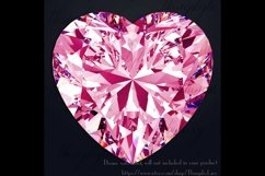 254 Real Heart Diamond Clip arts PNG Transparent Valentine Product Image 2