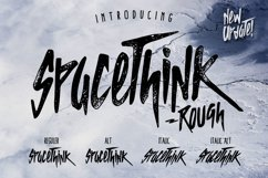 SPACETHINK Typeface Product Image 1