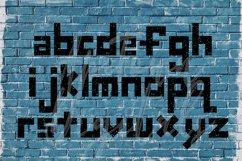 Grunge Font, Distressed Font, Sport Font, Athletic font Product Image 2