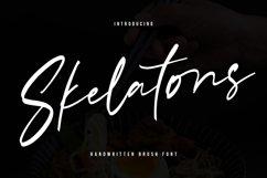 Skelatons Handmade Brush Font Product Image 1
