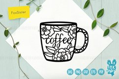 Tea and Coffee cups svg, Tea time Product Image 3