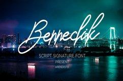 Bennedik Signature Typeface Product Image 1