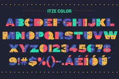 Itze Font Product Image 2