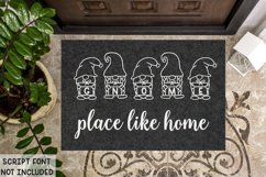 Merry Gnomes - A fun holiday gnome font Product Image 6
