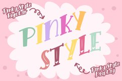 Pinky Style - Lovely Craft Font Product Image 5