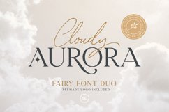 Cloudy Aurora - Font Duo Product Image 1