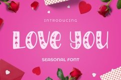 Web Font LOVEYOU Font Product Image 1