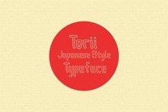 Torii - Japanese Style Typeface Product Image 2