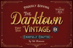 Darktown Font Duo Product Image 1