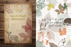 SVG EPS Bundle Forest animals silhouettes Product Image 6