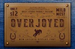 Overjoyed Layered Typeface Product Image 1