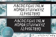 Meditative font - cute English font Product Image 3