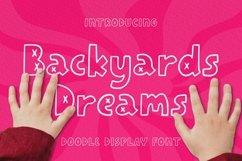 Web Font Backyards Dreams Font Product Image 1