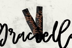 Web Font Rafella - Brush Script Font Product Image 3