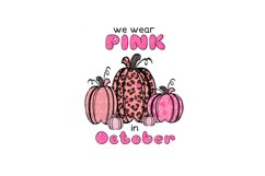 Pink in October pumpkins Product Image 1