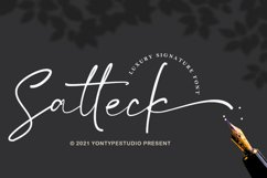 Satteck A Luxury Calligraphy Signature Font Product Image 1