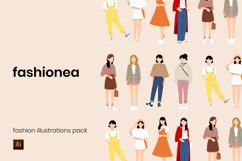 Fashion Vector Illustrations Product Image 1