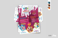 Kids Art Workshop Flyer Product Image 4