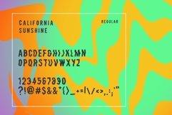 California Sunshine Typeface Product Image 4