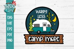 Worry Less Camp More Hitch SVG Product Image 2