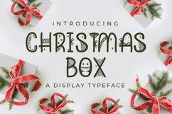 Web Font Christmas Box Product Image 1