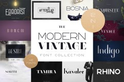 The Modern Vintage Font Collection Product Image 1