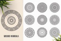 530 Vector Mandala Ornaments Bundle Product Image 29