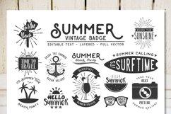 Summer Vintage Badge Product Image 1