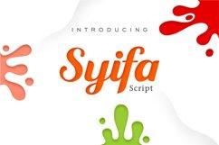 Syifa Script Product Image 1