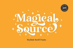 Magical Source - Stylish serif font Product Image 1