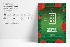 Spring Festival Flyer Template Product Image 2