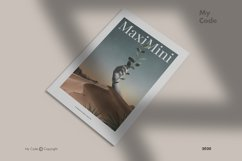 Minimalist Magazine Mockup Product Image 2