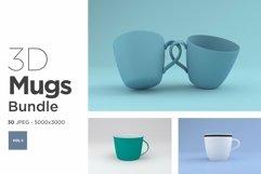 30 Mugs Mockup Images Bundle Vol -1 Product Image 1
