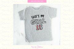Thats my Girl Svg, girl baseball svg, girl svg, Baseball Svg Product Image 1