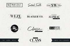 Ripon Font Duo // Free 10 Logos Product Image 3