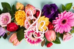 CLN - Monohearts - A Monogram Heart Font with Extra Doodles Product Image 2