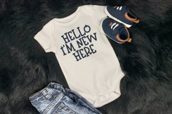 Baby Boy - A Hand-Lettered Kid Font Product Image 3