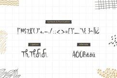 Saluyu Script -Handwritten Font Product Image 3