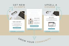 Workbook Lead Magnet Template for Coaches   Canva Templates Product Image 4