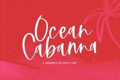 Ocean Cabanna- A Handwritten Script Font Product Image 1